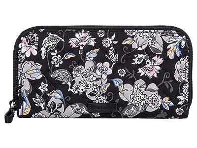 Vera Bradley Iconic RFID Georgia Wallet (Holland Garden) Wallet Handbags