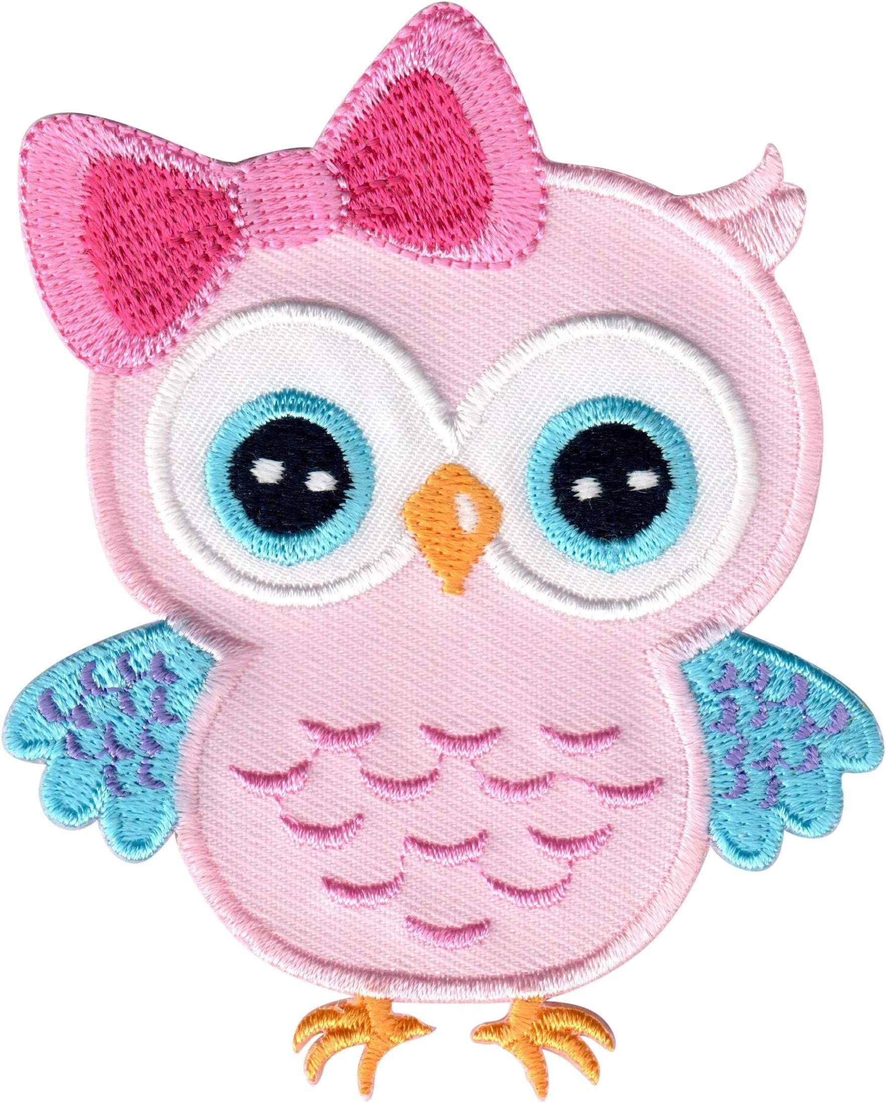Animal Letters Patch Embellishment Turtle Patch Owl Patch Embroidered letters Applique iron on Patches