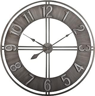 Studio Designs Home Industrial Loft 15 Inches Metal Wall Clock