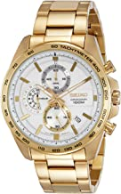 Seiko Chronograph SSB286P1Mens Analog Silver Business Quartz Seiko