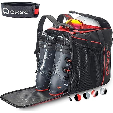 Otaro ® Premium Bolsa para Botas de esquí con Compartimento para Casco Classic - Diseño de la habitación Innovador y Mano de Obra Apoya a Las Empresas emergentes alemanas!