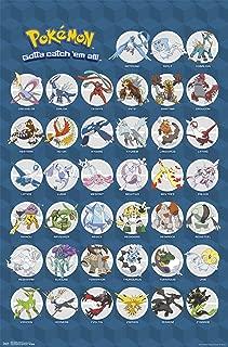 Trends International Pokemon Legendary Wall Poster 22.375