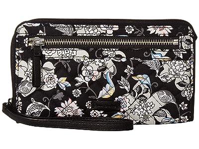 Vera Bradley Iconic RFID Front Zip Wristlet (Holland Garden) Wristlet Handbags