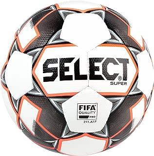 SELECT Super Fifa Soccer Ball, White/Black, Size 5