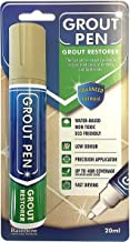 Rainbow Chalk Markers Ltd Grout Pen Large Beige - Ideal to Restore The Look of Tile Grout Lines