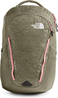 The North Face Women's Vault Backpack, Burnt Olive Green Light Heather/Mauveglow, One Size