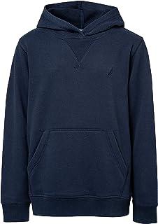 Nautica Boys' Pullover Fleece Hoodie Sweatshirt