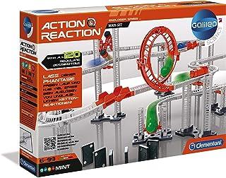 Clementoni 59126 Galileo Science – Action & Reaction Maxi Set, Modellbausatz für..