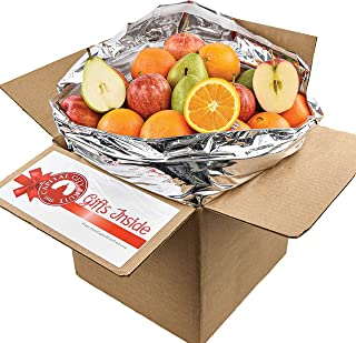 Gourmet Fruit Gift Pack, (10lb) Mixed Fruit Sampler Box with Pears, Apples, and Oranges (22 pieces) Loaded ...