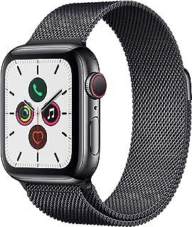 Apple Watch Series 5 (GPS + Cellular, 40mm) - Space Black Stainless Steel Case with Black Milanese Loop