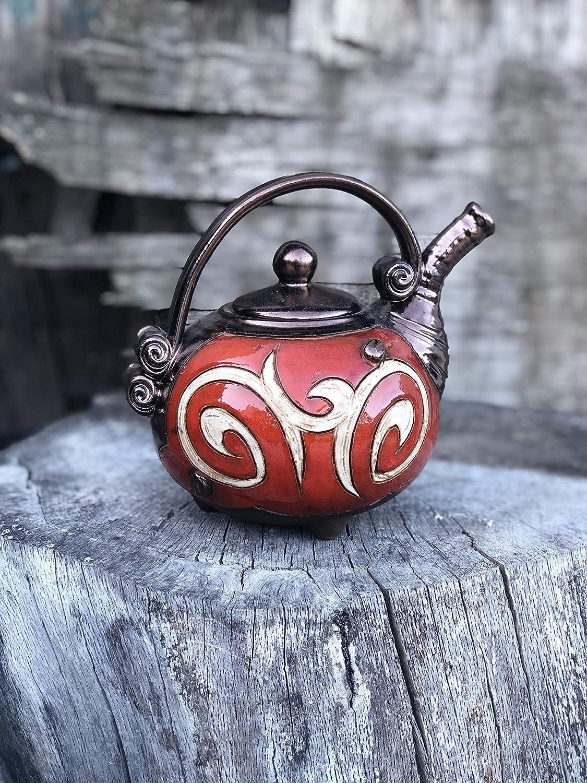 Cute latest Ceramic Cheap SALE Start Teapot for one Pottery Tea A Handmade Pot