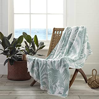 Tommy Bahama Desert Fronds Throw, 50x60, Green