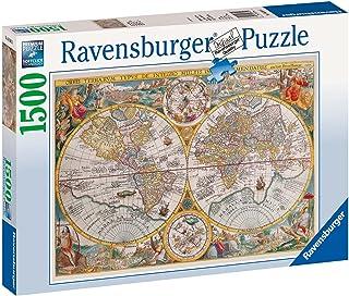 Ravensburger Historical Map Puzzle 1500pc,Adult Puzzles