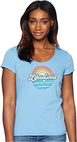 Sunny Waves Smooth Tee
