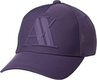 A|X Armani Exchange Men's Rubber Logo Hat