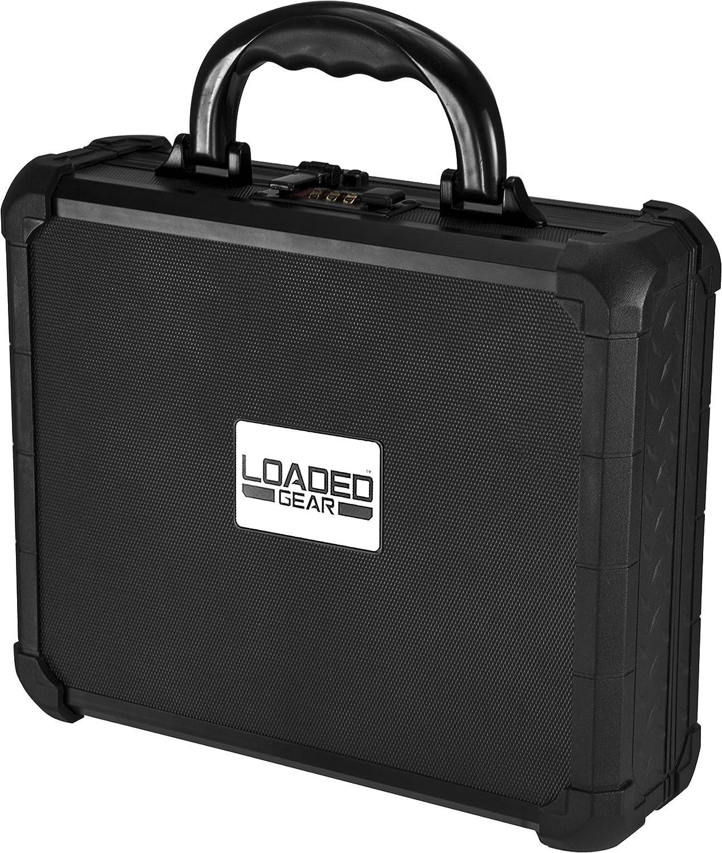 Loaded Gear AX-50 Hard Ranking NEW TOP11 Case Black BARSKA Medium by