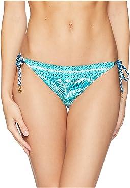 Among Frond Reversible String Bikini