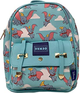 """Deluxe Disney's Dumbo 11"""" Faux Leather Mini Backpack"""