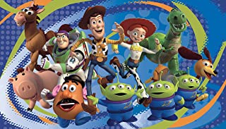 RoomMates Toy Story 3 Chair Rail Removable Wall Mural - 10.5 feet X 6 feet