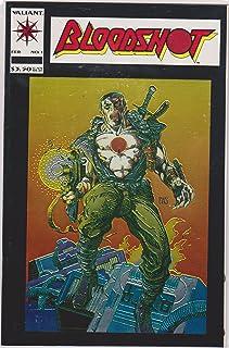 Bloodshot #1 Blood of the Machine (Special Chromium Acetate Cover Printing with Bonus Poster, Volume 1)