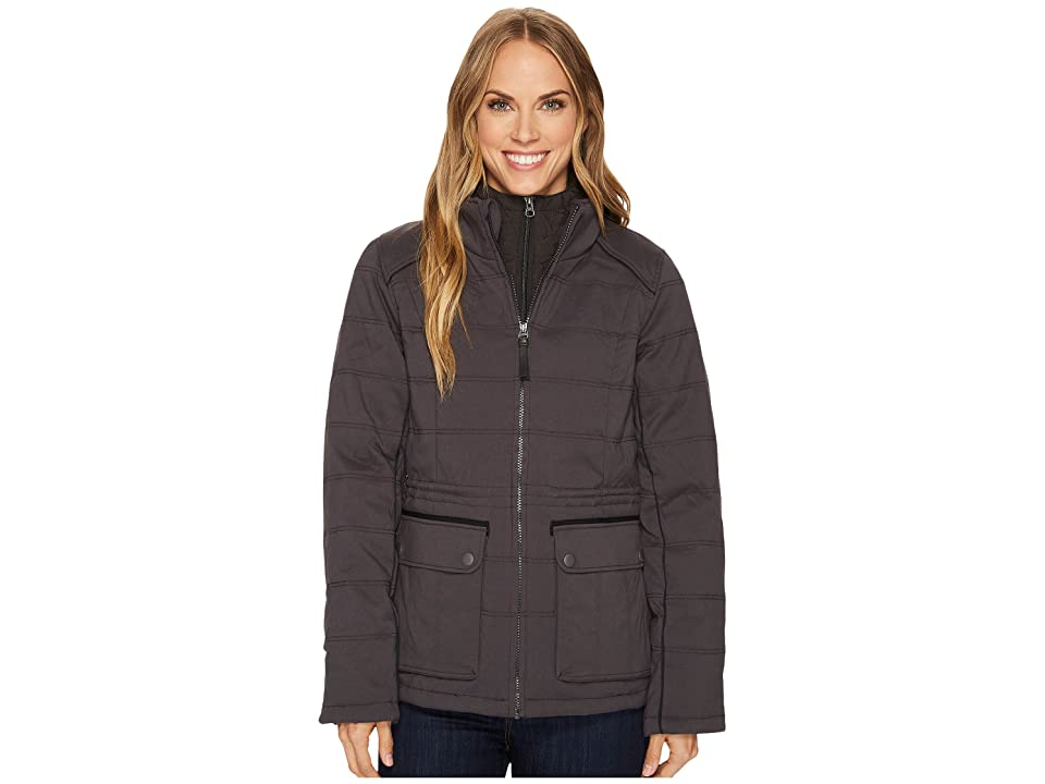 Prana Halle Insulated Jacket (Charcoal) Women