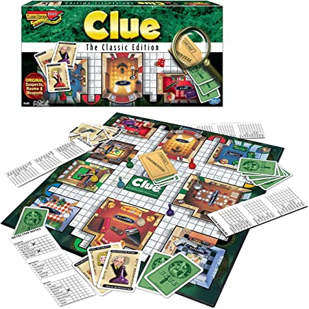 Winning Moves Games Clue The Classic Edition Toy, Multicolor (1137)