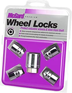 McGard 24154 Chrome Cone Seat Wheel Locks (M12 x 1.25 Thread Size) - Set of 4