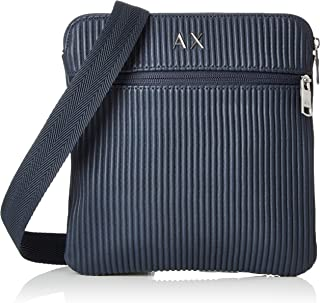 Small Crossbody Bag with Double Zippers