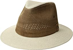 Tommy Bahama - Linen and Perforated Leather Safari