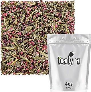 Sponsored Ad - Tealyra - Raspberry Punch - Sweet Green Tea with Hibiscus and Raspberry - Loose Leaf Tea - Hot or Iced Tea ...