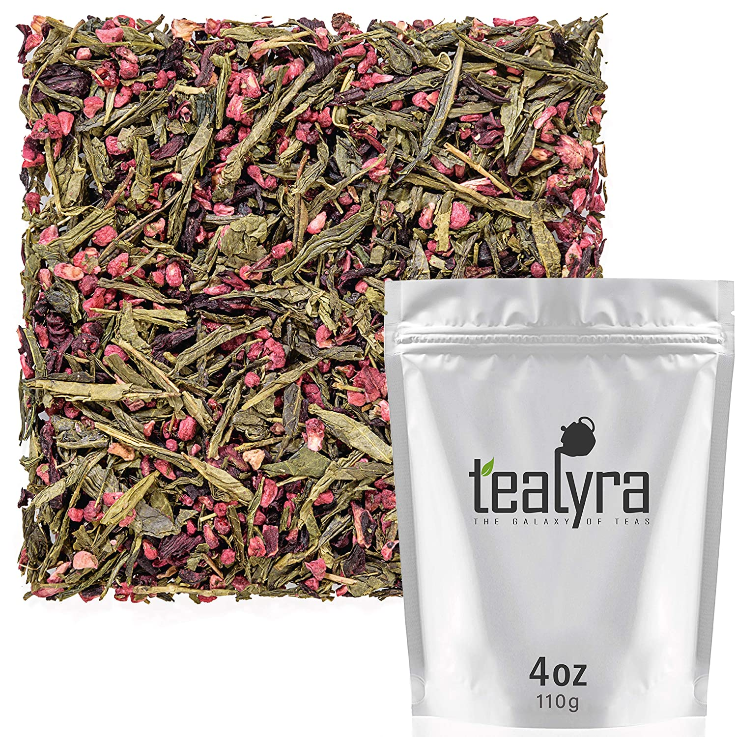Tealyra - Manufacturer regenerated product Raspberry Phoenix Mall Punch Sweet Green and with Ra Tea Hibiscus
