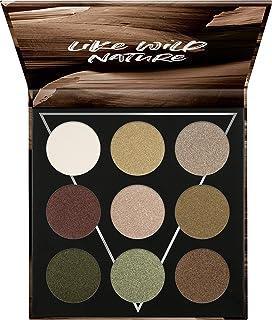 essence | EARTH Eyeshadow Palette | 9 Blendable Green & Neutral Shades | Gluten & Paraben Free | Cruelty free