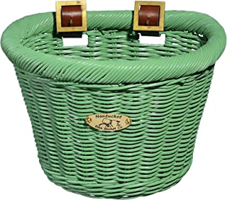 Nantucket Bicycle Basket Co. Buoy & Gull Collection Children's D-Shape Basket
