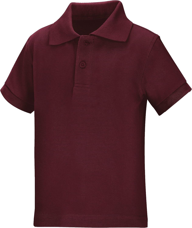 Classroom School Uniforms Boys' Unisex Short Sleeve Pique Polo