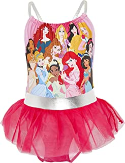 Idea Regalo Abbigliamento Frozen Bambina 3-10 Anni Costume Piscina Mare Intero Disney Costume Piscina Bambina Frozen 2 Costume da Bagno Bimba con Anna ed Elsa