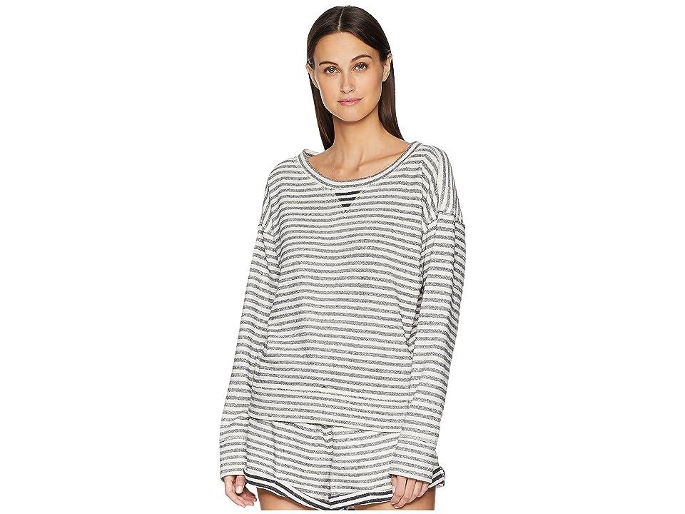 Skin Charlie Sweatshirt (Ivory/Navy Stripe) Women