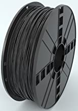 MG Chemicals Black PETG 3D Printer Filament, 1.75 mm, 1 kg Spool