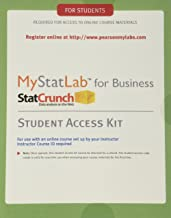 MyLab Statistics with eText for Business Statistics -- Standalone Access Card; PHStat Access Kit for Statistics (My Stat Lab)