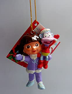 Dora the Explorer with Boots Christmas Ornament 3