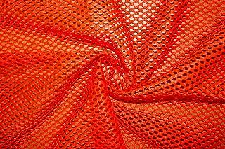 Heavy Athletic Sports Mesh Knit Football Fabric 58