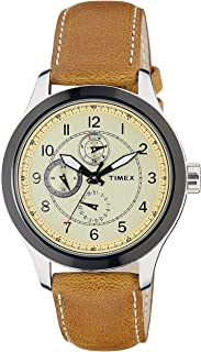 Timex Analog Yellow Dial Men's Watch - TI000I70700