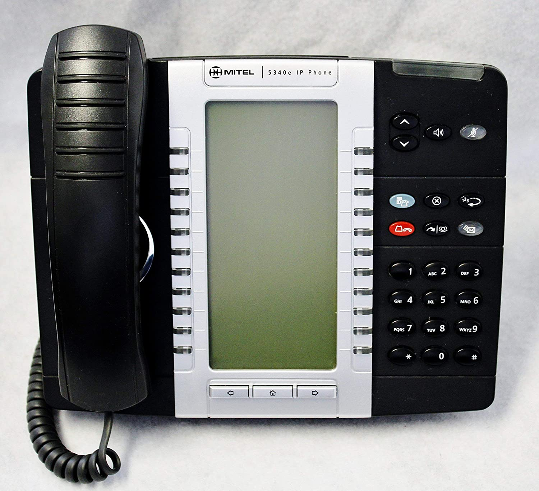 Mitel 5340e IP Phone ~ Part# 50006478 (Certified Refurbished)