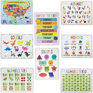 8-Pack Reversible Classroom Wall Posters 22