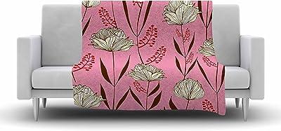 51 X 60 Kess InHouse Danii Pollehn Indian Clash Pink Multicolor Wall Tapestry