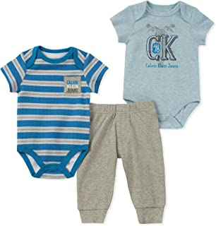 Calvin Klein - Juego de Pantalones de bebé (3 Piezas)