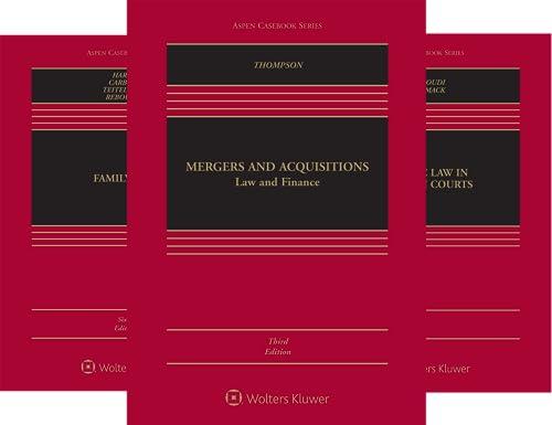 Aspen Casebook (101-150) (50 Book Series)