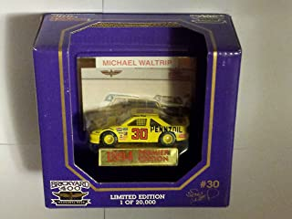 Michael Waltrip #30 Pennzoil Nascar In Yellow Diecast 1:64 Scale By Racing Champions