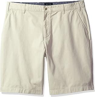 Men's Cotton Twill Flat Front Chino Short