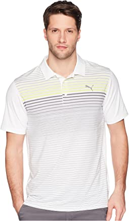PUMA Golf Highlight Stripe Polo
