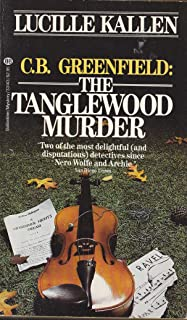 C.B. Greenfield: The Tanglewood Murder